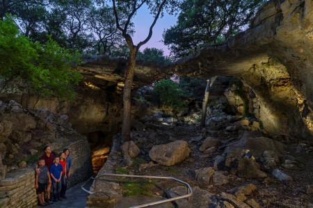 Sinkhole and Natural Bridge