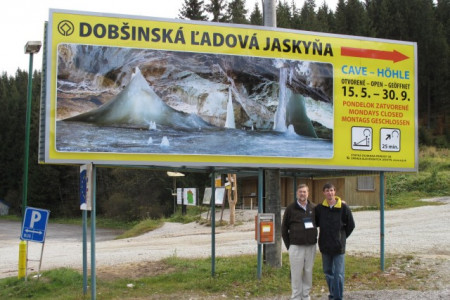 New owners of the Dobsinska Cave came from Australia