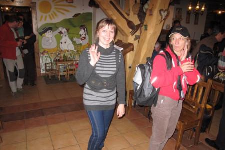 Ljuba Kadebskaya and Donatella Fabbricatore