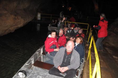 Boat ride in Domica 01