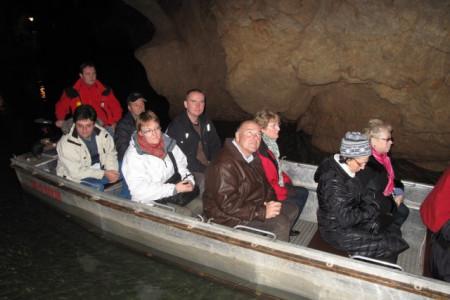 Boat ride in Domica 02