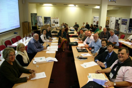 Newly elected Board of Directors' meeting